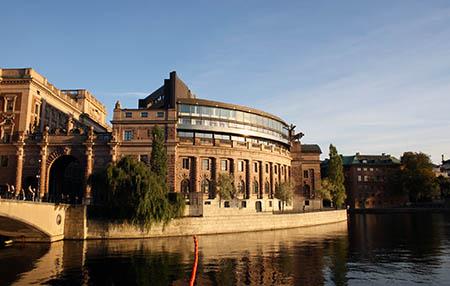 Parlamento sueco - Riksdagen