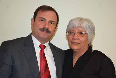 Fernando González y Dunnia Salazar