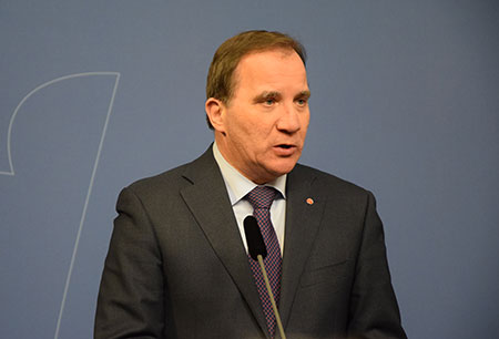 Stefan Löfven - Rosenbad